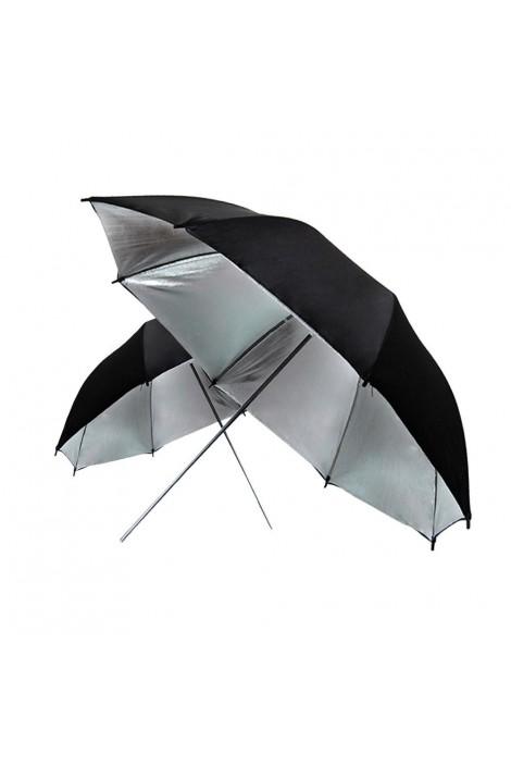 Schirm silber
