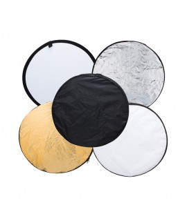 "5in1 24"" inch 60cm Light Reflector Diffuser"