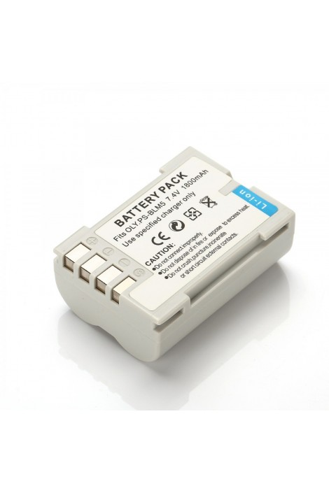 Replacement battery for Olympus PS-BLM5