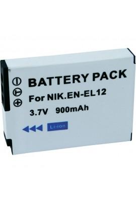 EN-EL12 Premium High-Capacity Akku Nikon Coolpix S-Serie
