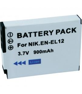 Ersatzakku für Nikon Coolpix EN-EL12