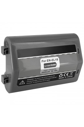 Replacement battery Nikon EN-EL18