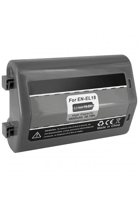 Replacement battery Nikon EN-EL18