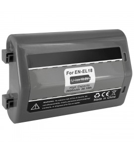Batterie de remplacement Nikon EN-EL18