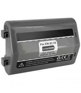 Battery for Nikon EN-EL18