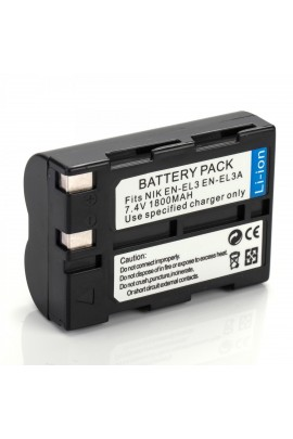 Repl. battery for Nikon EN-EL3 / EN-EL3a