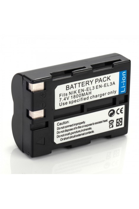 Repl. battery for Nikon EN-EL3 / EN-EL3a