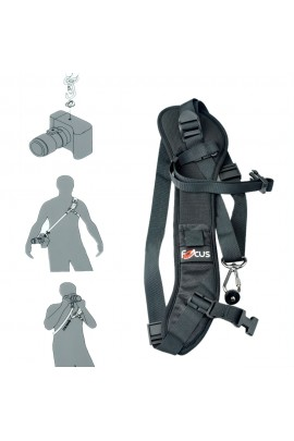 Camera Carrying Strap - BLACK