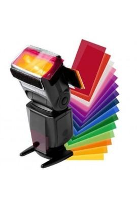 12 filtres de couleur de gel
