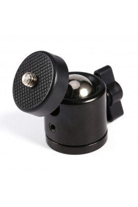 360° tripod ball head rotatable, thread