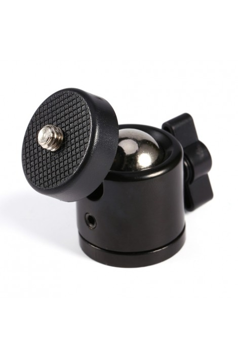 360° tripod ball head rotatable, thread
