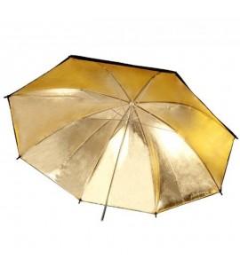 Refllektor Schirm Gold