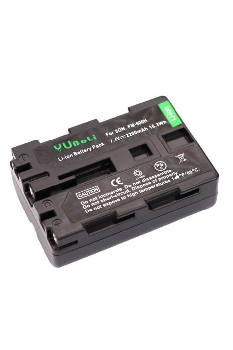 Batterie rempl. pour Sony NP-FM500H