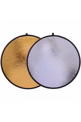 """2in1 12"""" 30 cm Lichtreflektor Diffusor"""