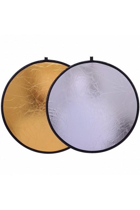 """Réflecteur Lumière 2in1 12"""" pouces 30 cm"""