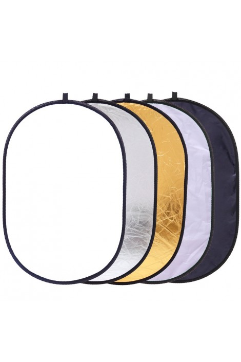 5en1 34 pouces 90x60cm r flecteur lumi re diffuseur ovale propch - Reflecteur de lumiere fait maison ...