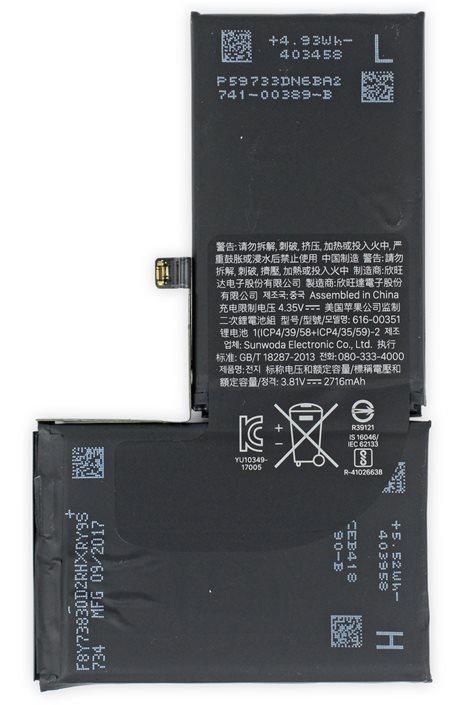 Akku für iPhone X