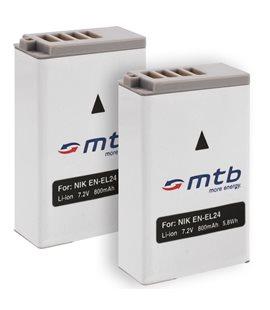 Battery for Nikon EN-EL24