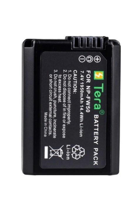 Premium High-Capacity Akku NP-FW50 Sony