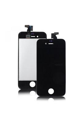iPhone 4S Retina LCD Display Digitizer Nero