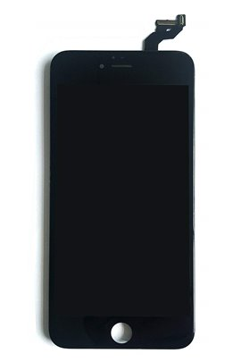 iPhone 6S+ Retina LCD Display Schwarz