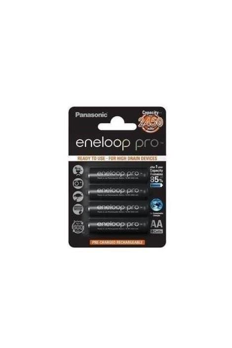 Panasonic Eneloop Pro BK-3HCCE/4BE AA