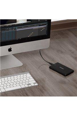 "custodia est. disco rigido 2,5"" USB 3.1"