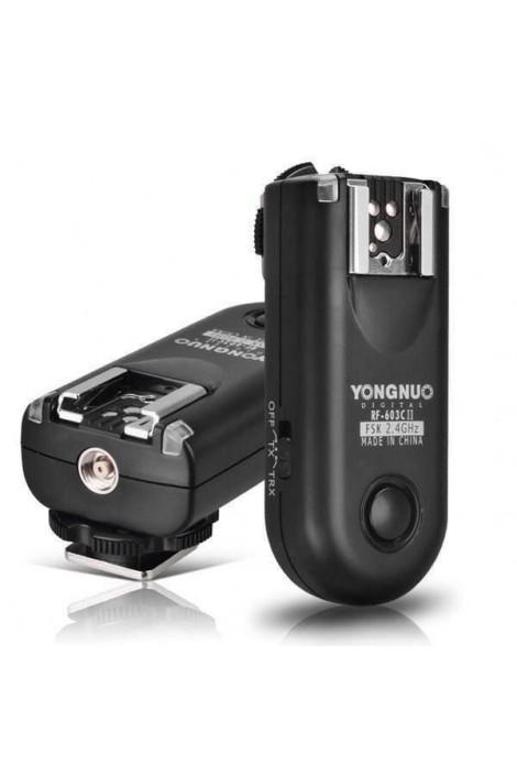 2x Yongnuo RF-603C II 2 für Canon C3
