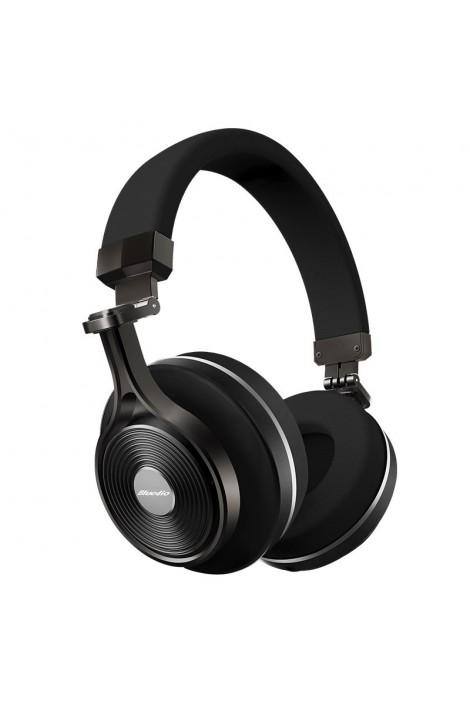 On-Ear Bluetooth Kopfhörer V3 - SCHWARZ
