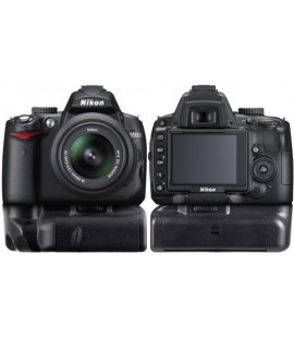 Impugnatura Nikon D5000 D3000 D60 D40X