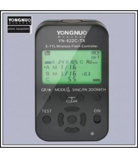 YN-622C-TX E-TTL Wireless Flash Controller senza fili Canon