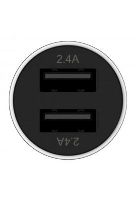 Premium Car Charger Edelstahl 2x USB
