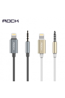 Rock 3.5mm iPhone Audiokabel Lightning