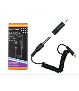 Yongnuo LS-PC635 Connecteur / Cable Sync