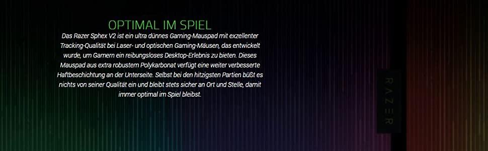 Razer Sphex V2 Gaming Mouse pad